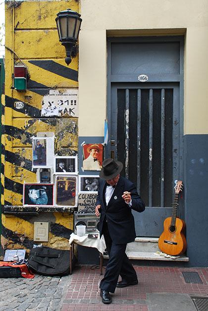Barrio de San Telmo en Buenos Aires, Argentina. Foto © Patrick Mreyen