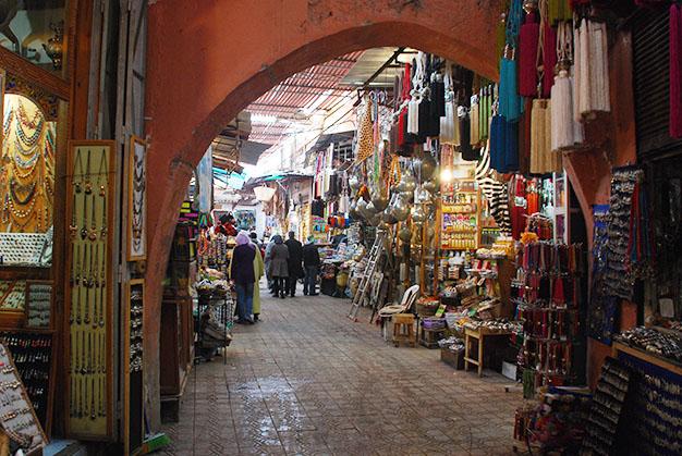 El zoco de Marrakech, Marruecos. Foto © Silvia Lucero