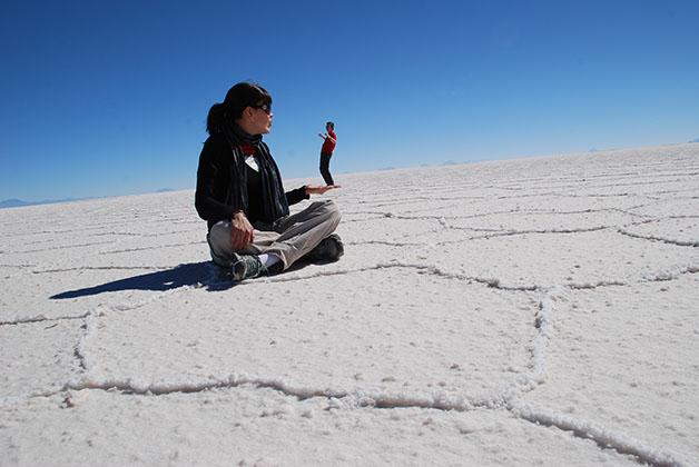 Salar de Uyuni en Bolivia. Foto © Patrick Mreyen